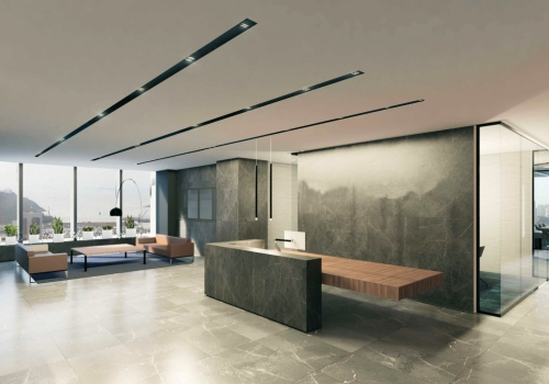 The renovation of a Superior office in Hong Kong (3 floors in total of 36,000 square feet), contract awarded by Lai Si Construction.