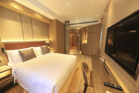 Guest Room Renovation of the luxury hotel at Taipa Completed